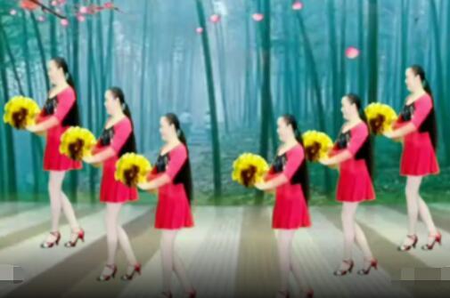 鬼凤鬼步舞教学视频_甘肃天水金芳广场舞《回头看看我》原创时尚32步 背面演示及 ...