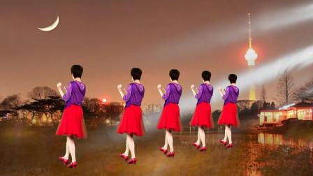 操操哒_原创懒人瘦身操《美美哒》背面简单易学健身必备-平静广场舞