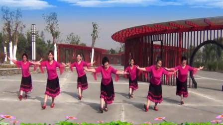广场舞最美的新娘_喜欢看男士跳藏族舞是一种最美的享受《蓝色天梦》 - 平静广场舞